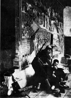 Albánští nacisté byli zvláště brutální vůči srbskému pravoslavnému duchovenstvu. Vražda pravoslavného kněze v Děviči. (2. světová válka)